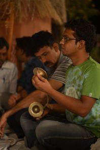 Gopal on Manjiras!