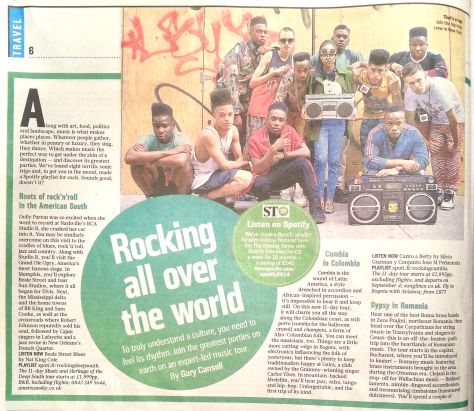 Sunday Times article - p1